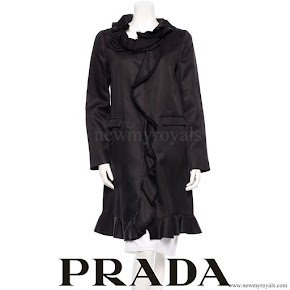 Princess Mette Marit wore Prada Coat