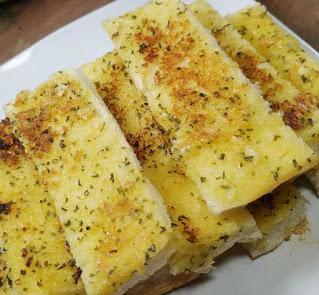 Cara membuat Garlic Bread Toast alias Roti Bawang yang Super Gampang