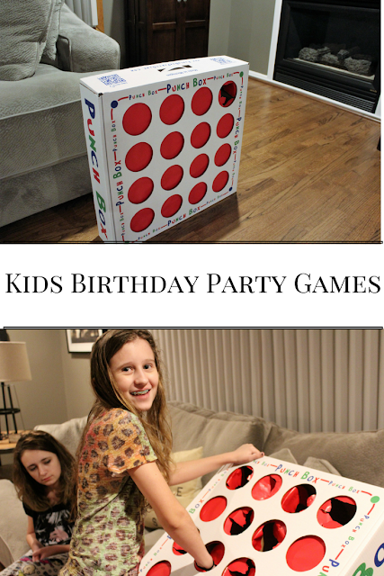 The Punch Box, kids birthday party games, party games, indoor, outdoor, toddlers, for girls, for boys, activities, easy