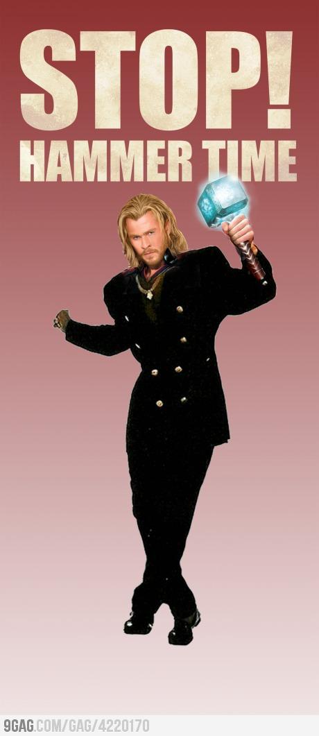 Hammer Time Thor
