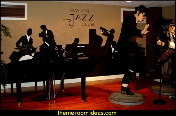 Blues Brothers statues blues brothers music bedrooms music decor music band decorations