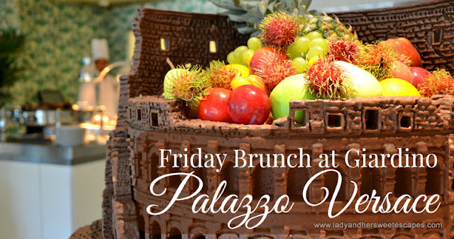 Friday Brunch at Palazzo Versace