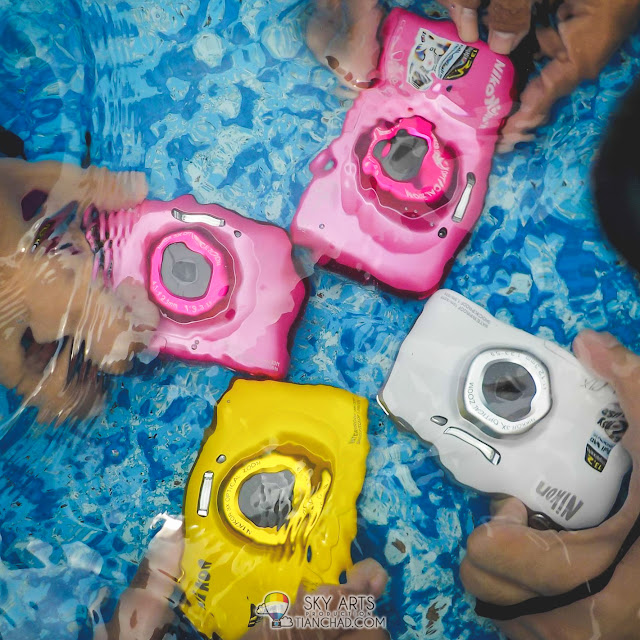 Nikon S33 underwater camera at a very affordable price