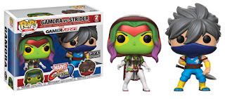 Pop! Games: Marvel vs. Capcom: Infinite Gamora vs Strider FYE