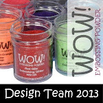 I was a designer for WOW! Embossing Powders