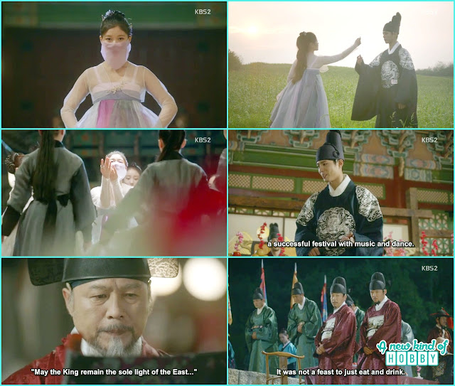 ra on change into women clothing and did the solo dance  - Love in The Moonlight - Episode 4 Review