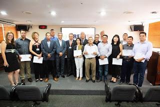 Presidente da ACIAR prestigia, em São Paulo, entrega  de certificados aos corretores de imóveis de Registro-SP