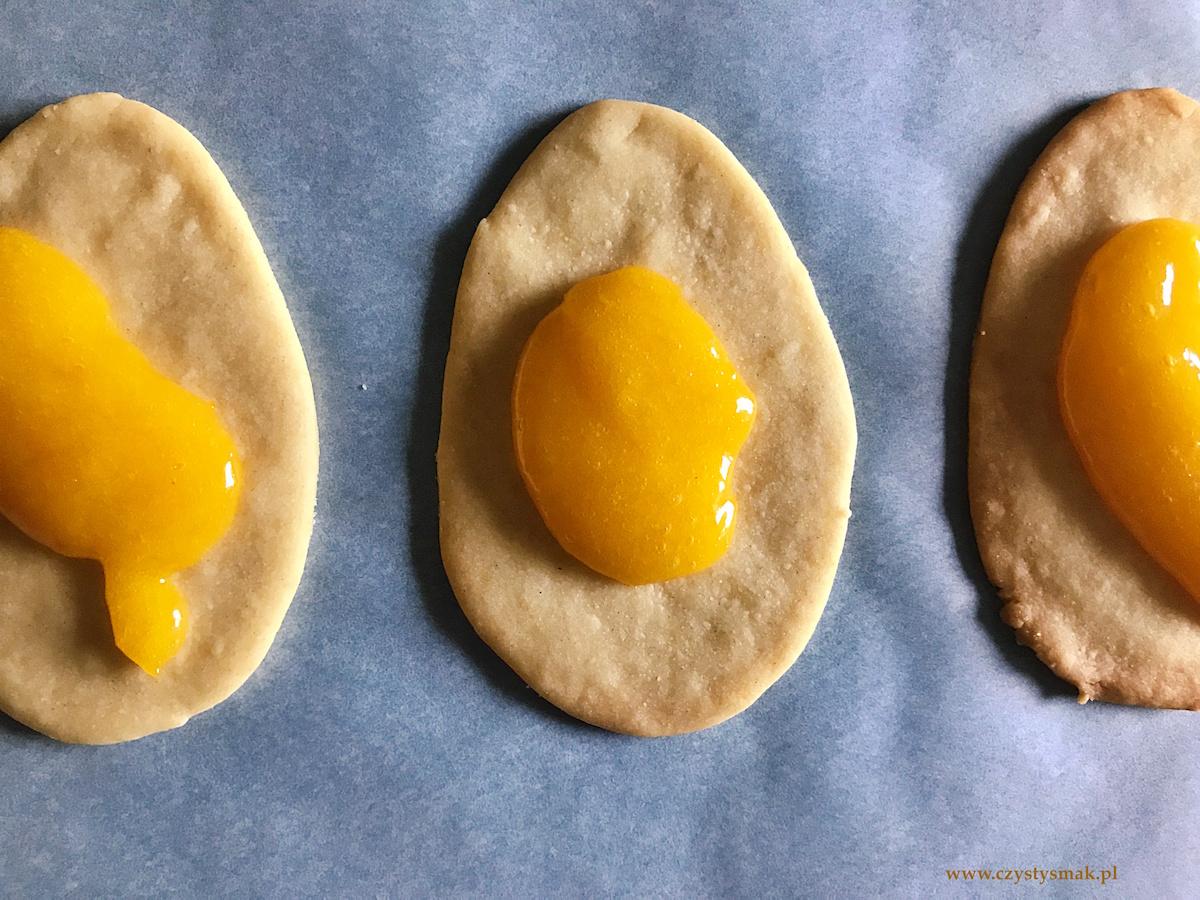 Ciasteczka w kształcie jajek