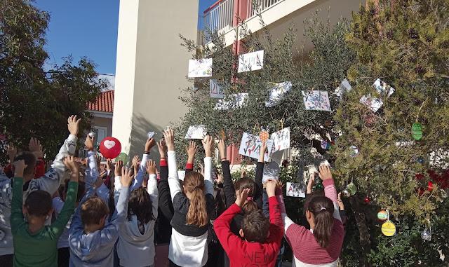 Το Δημοτικό Σχολείο Λυγουριού τιμά την παγκόσμια ημέρα ΑμεΑ