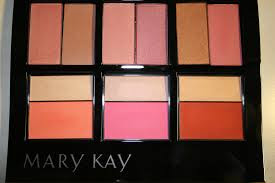 mineral duo blush, mary kay