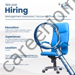 UBL Fund Managers Jobs Management Associate / Account Officer Finance