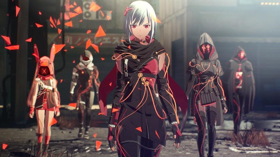 Scarlet Nexus, Characters, 4K, #3.2034