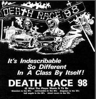 Promoción arcade Death Race 98
