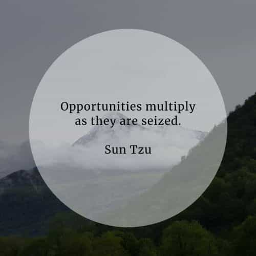 Opportunity quotes that'll inspire in seizing the moment