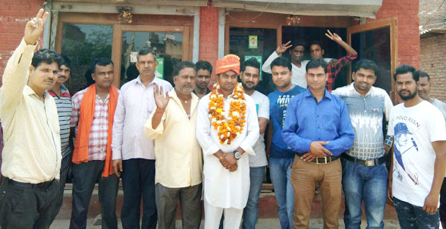 Subodh Chandravanshi, second time to nominate Tiwada Youth Lighter Head of INLD Party, meet the congratulations