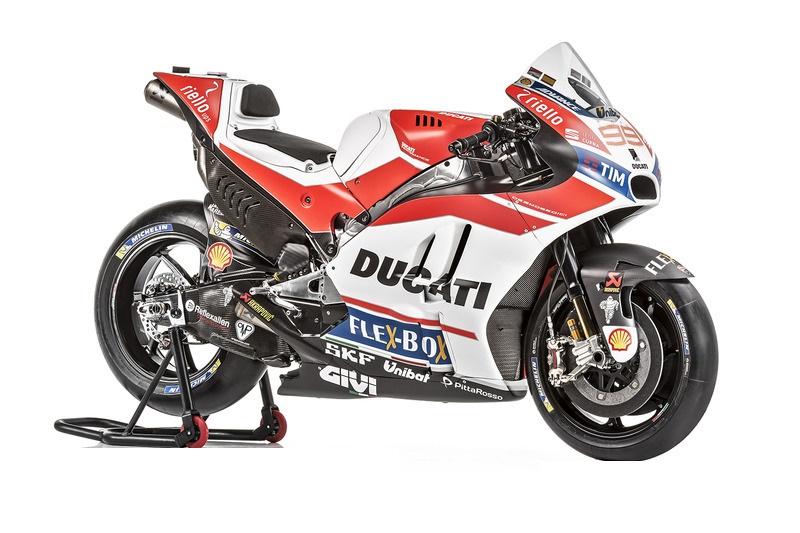 MotoGP 2018 : Tim pabrikan Ducati perkenalkan Desmosedici GP18 dengan perawakan yang lebih langsing