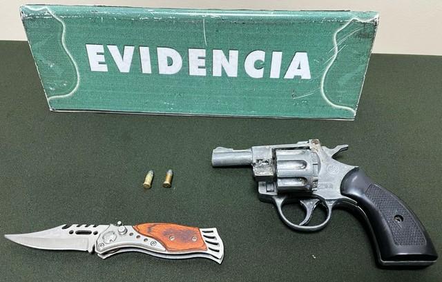 Osorno: Carabineros detuvo a sujeto con arma a fogueo en Francke