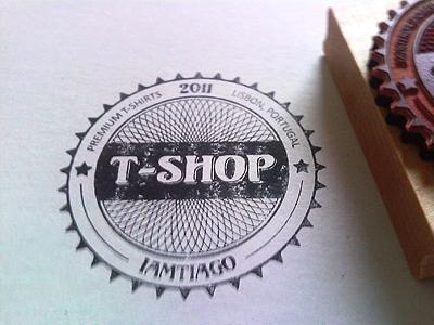 contoh logo stempel keren dan simpel