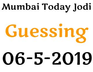 Main Mumbai 06-05-2019 Single Open Single Jodi Guessing