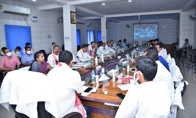 Employment Review Committee arrived in Bongaigaon