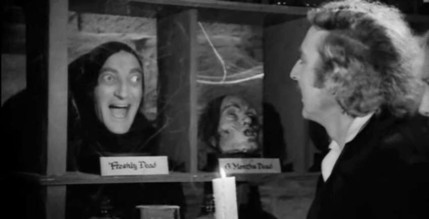 El jovencito Frankenstein - Mel Brooks - Gene Wilder - el fancine - el troblogdita - Halloween - ÁlvaroGP - Cine en blanco y negro - Comedia - Young Frankenstein - ADECEC