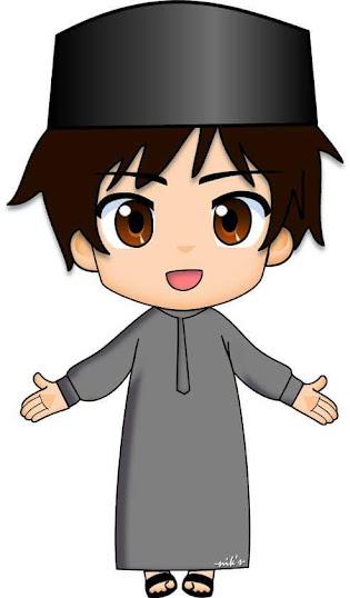 Muslim dan muslimah merupakan sebutan bagi seseorang yaitu laki 30+ Gambar Islami Kartun lucu dan Keren