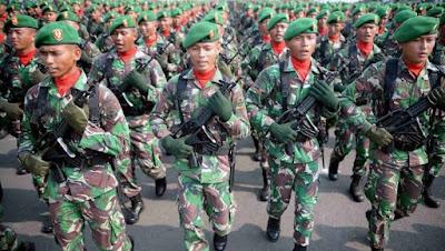 TNI lembaga paling dipercaya