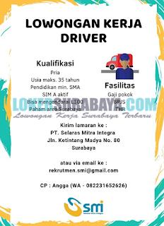 Loker Surabaya di PT. Selaras Mitra Integra Terbaru Mei 2019