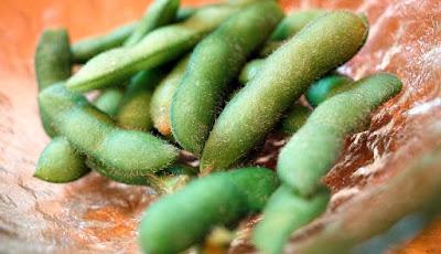 Kacang kedelai salah satu makanan tinggi purin