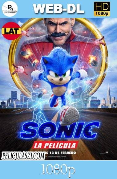 Sonic, La Película (2020) HD WEB-DL 1080p Dual-Latino