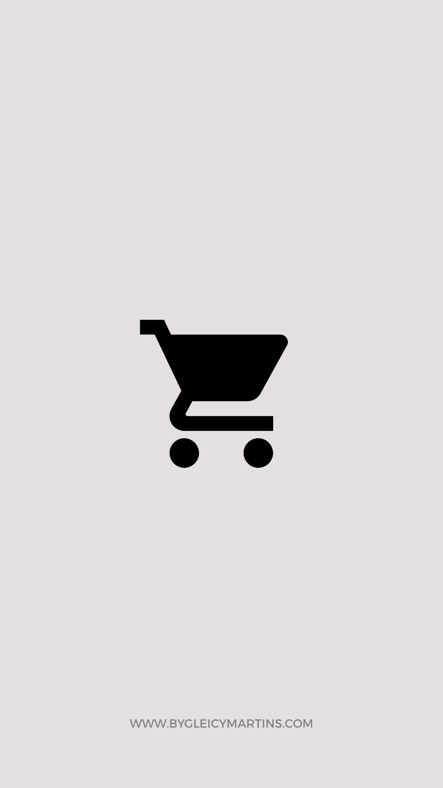 Capa para destaque compras