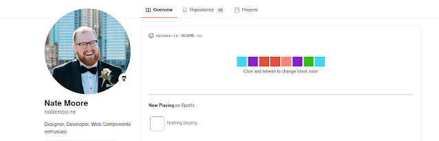 GitHub profile Readme