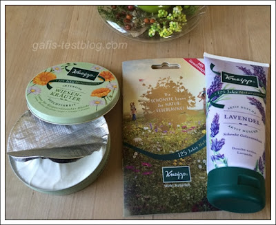Kneipp -  Wiesen Kräuter Creme und Aktiv Dusche Lavendel