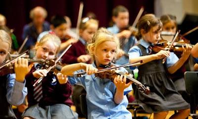 Mempelajari penggunaan alat muzik