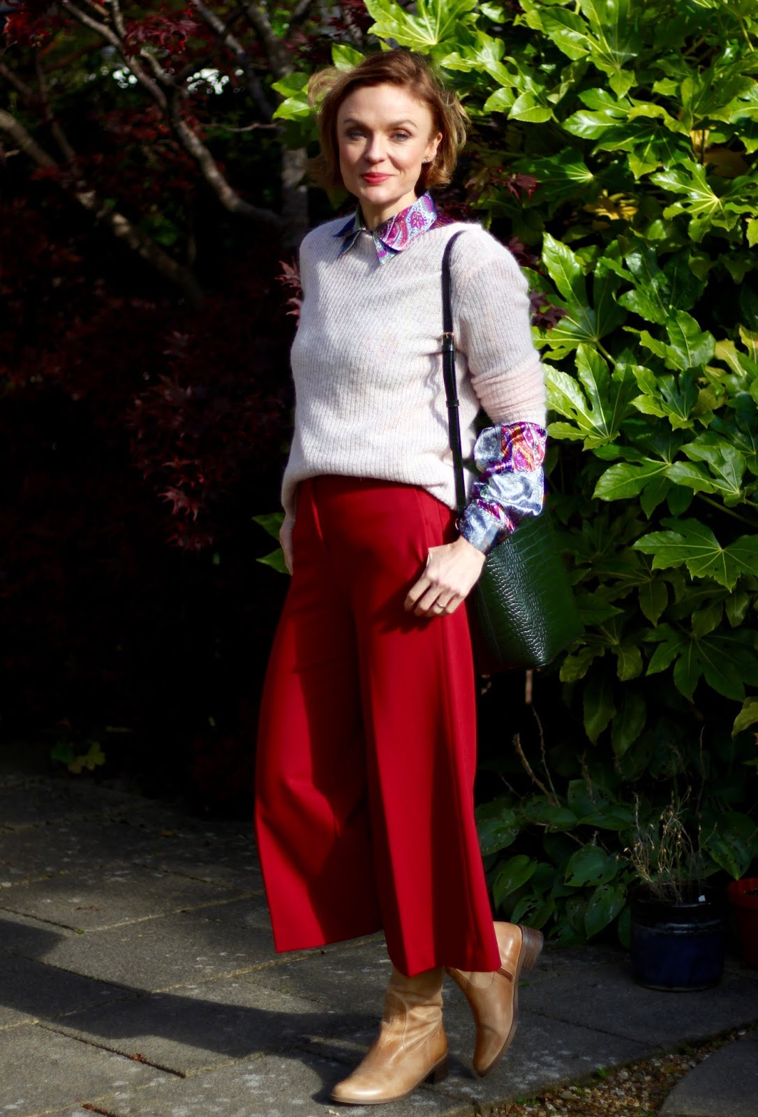 Autumn Outfit Ideas | Culottes in Fall | Fake Fabulous