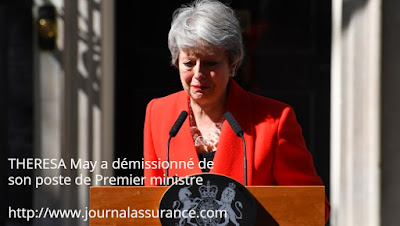 THERESA May a démissionné