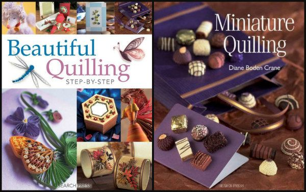 Beautiful Quilling Step-by-Step and Miniature Quilling book covers