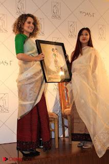 "Actress Kangana Ranaut Pos in Lehenga Choli at ""Between the Poet and her Pencil"" Book Launch  0007.jpg"