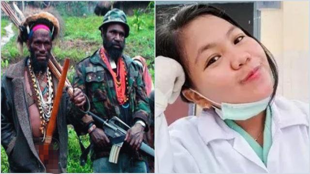 Biadab! Teror*s KKB Lecehkan Nakes Wanita hingga Tewas di Pegunungan Bintang