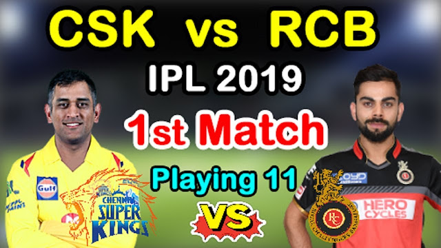 Rcb Predicted Playing Xi Of First Match Against Csk