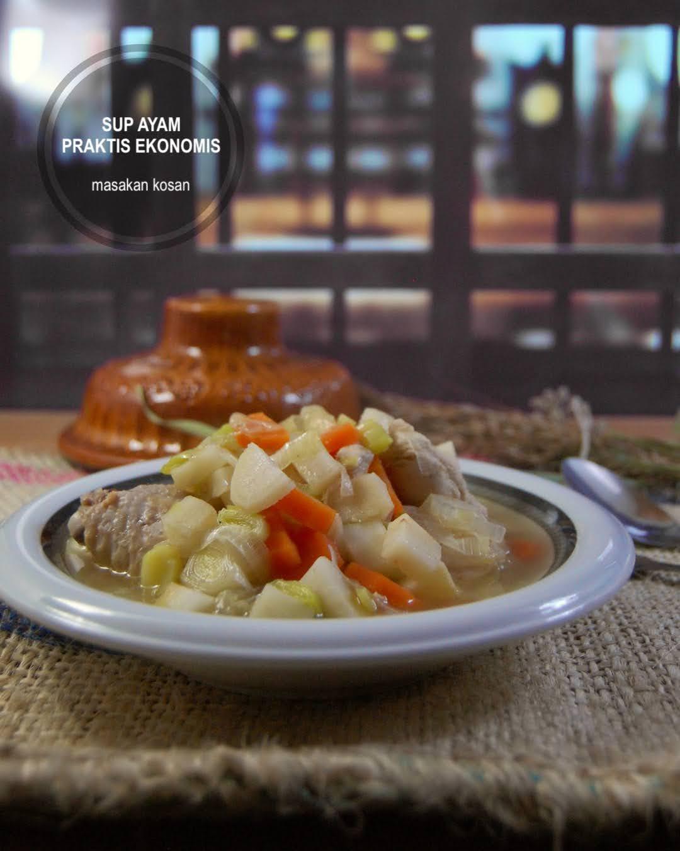 Sop Ayam no-ulek Gurih Legit Penuh Gizi dan Vitamin