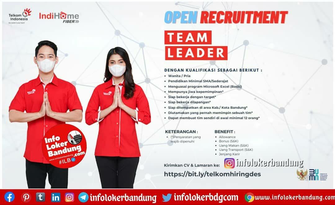 Lowongan Kerja Telkom Indihome Bandung Desember 2020