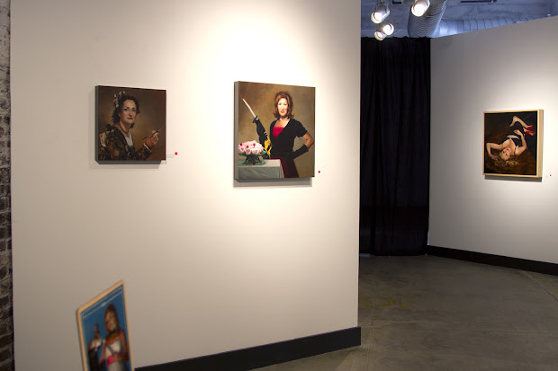 Terry Strickland Art Incognito Project Exhibit