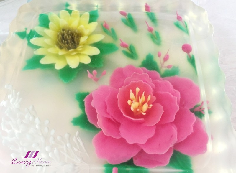 creative 3d jelly art beautiful edible flowers