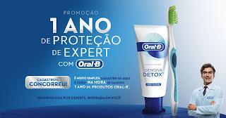 Promoção  1 Ano de Proteção de Expert  com Oral - B