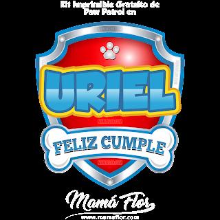Logo de Paw Patrol: URIEL