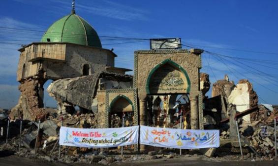 العراق؛ البدء بترميم مسجد النوري بمحافظة الموصل.