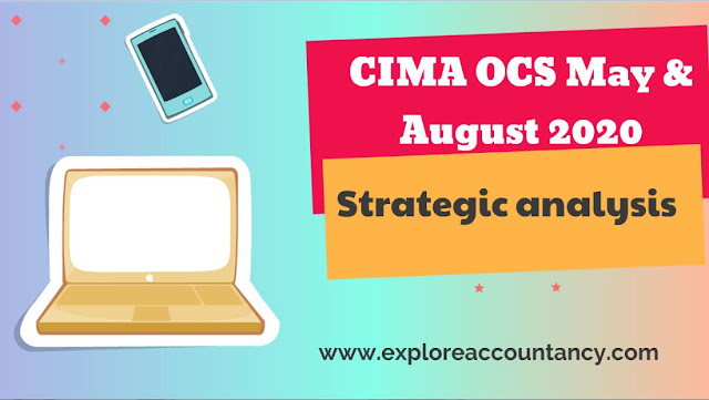 Strategic analysis video of OCS May & August 2020 - ChargeIT - CIMA Operational case study