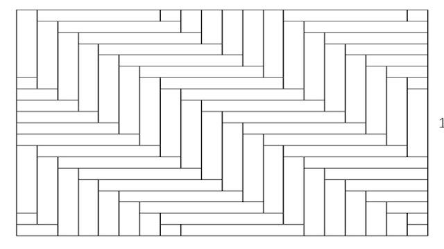 Teknik pemasangan lantai kayu motif herringbone
