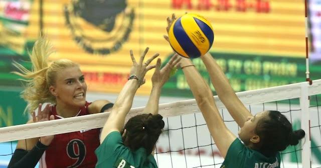 Holly Toliver - Cầu thủ giỏi nhất cúp Bình Điền phải giải nghệ!